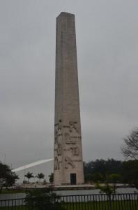 Obelisk v Ibirapuera parku