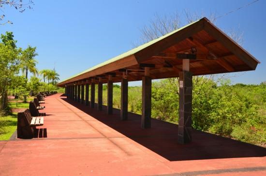 Postaja vlakca v parku
