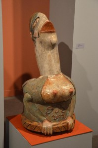 Utrinek iz Afrobrasil muzeja