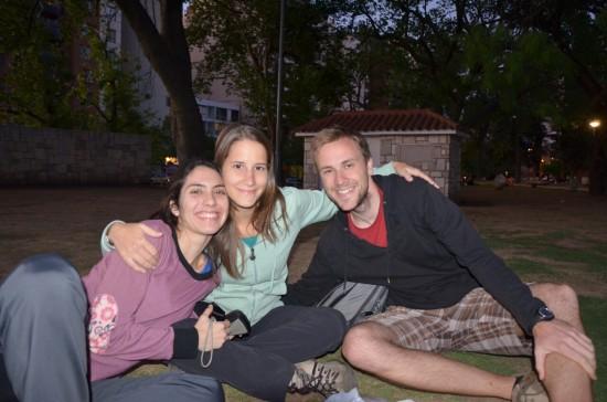 Vicky, Maru in Miha