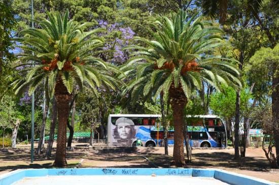 Che Guevara v park Sarmiento