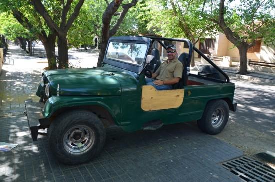 Augusto in njegovo vozilo