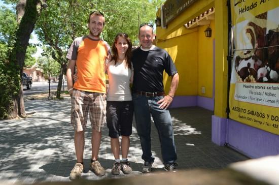 Miha, Maru in Augusto